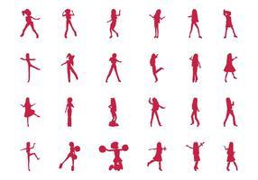 Springen und Tanzen Mädchen Set