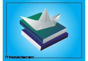 Books-and-paper-boat