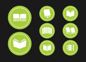 Buch Icons Grafik