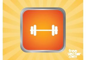 Dumbbell Icon Graphics