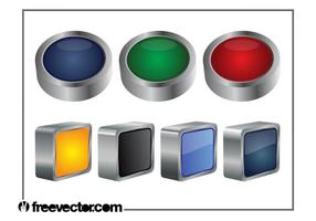 3D Buttons Graphics