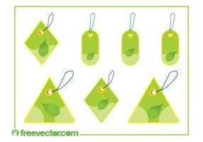 Eco-price-tags-set