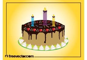 Geburtstags-Kuchen-Grafiken
