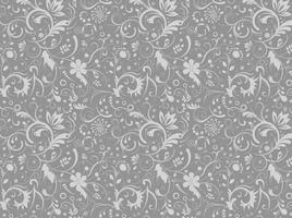 Gray-floral-pattern