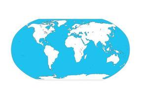 Kaart Van De Wereldgrafiek