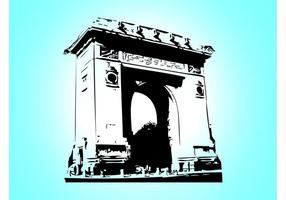 Arc-de-triomphe-vector