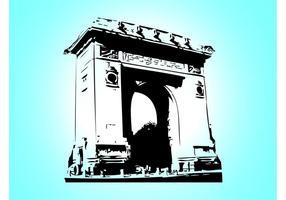Arc De Triomphe Vektor