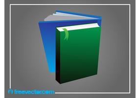 Böcker vektorgrafik
