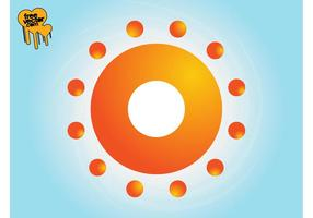 Sun Symbol Graphics