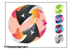 Colorful Globe Designs