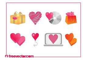 Heart Designs Set