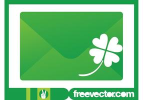 Envelope-and-clover-vector