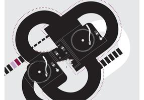 DJ Deck Background