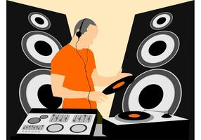 Mezcla de gráficos de DJ