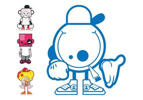Cartoon Characters Designs