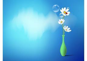 Vase mit Gänseblümchen