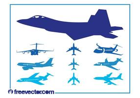 Airplanes Graphics Set