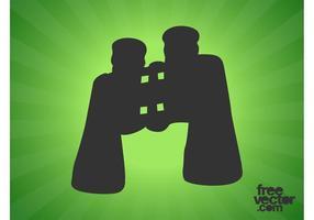Binoculars Icon Graphics