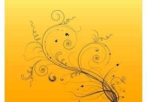 Swirling Plant Stems Vectors