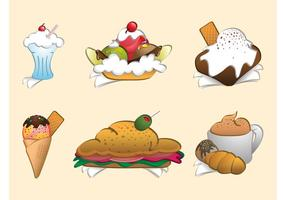 Cartoon Meals Set