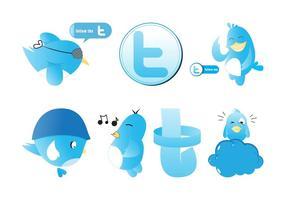 Twitter grafikuppsättning