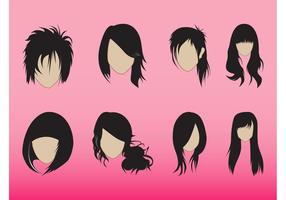 Hairstyles Graphics Set