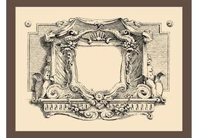 Vintage ramgrafik