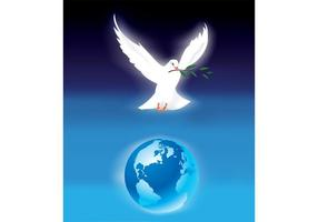 Cartel de la paz de mundo