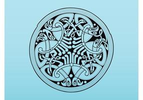 Antikes keltisches Design