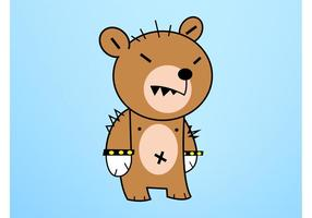 Cartoon Bear Character