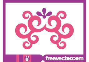 Pink Swirls Graphics