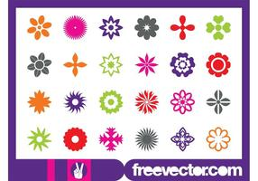 Floral Blossom Icons