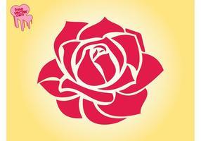 Rose Blüten Grafiken