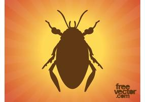 Beetle Silhouette Graphics