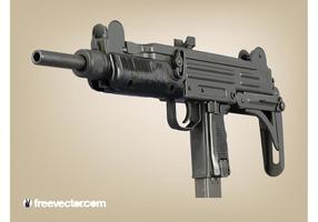 Machine-gun-vector