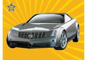 Zilveren Cadillac
