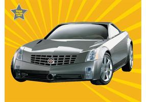 Cadillac argenté