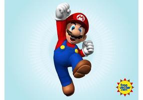 Mario 3d vector