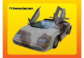 Camuflagem Lamborghini vetor