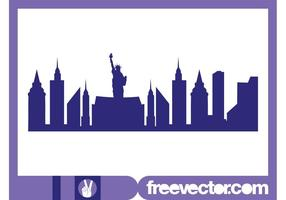 New York Skyline Graphics