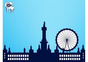 London Skyline Graphics