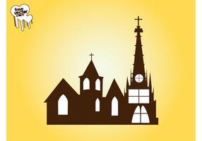 Kerk Vector Grafiek