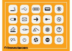 Square Icons Designs