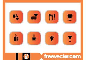 Foods-and-drinks-icons-set