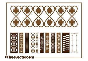 Vintage Border Decorations
