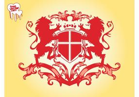 Lions-blazon-graphics-vector