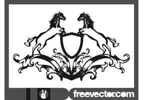 Vector-blazon-with-horses