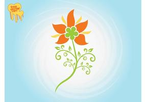 Stylized-flower-graphics-vector