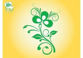 Swirling Plant Design