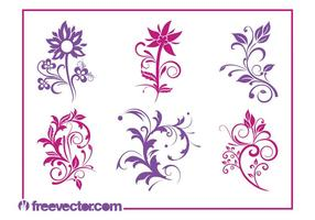 Vector-flowers-graphics-set